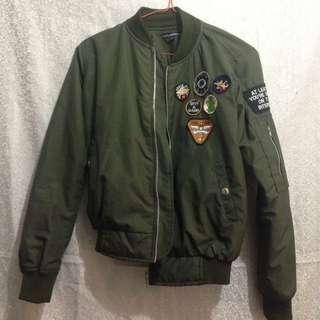 Army Bomber Jacket by cozymarket