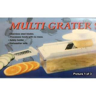 8 piece Multi-Grater Mandolin Set NEW