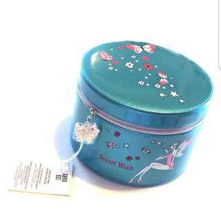 (BNWT)Anna Sui Secret Wish Round Jewellery Box