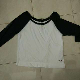 Hollister Crop Tee