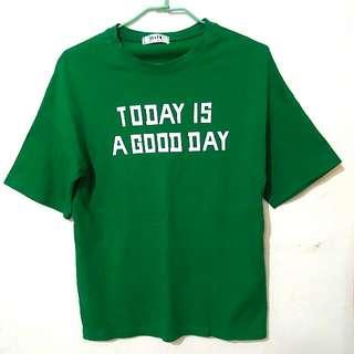 💡降降!! 綠色T-shirt