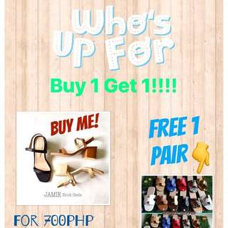 Buy 1 Get 1 PROMO!!!!!😍👣😊