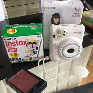 Instant Camera PIano White Instax Mini 50S