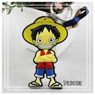 Luffy Anime Keychain