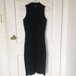 EverNew Black Midi Dress
