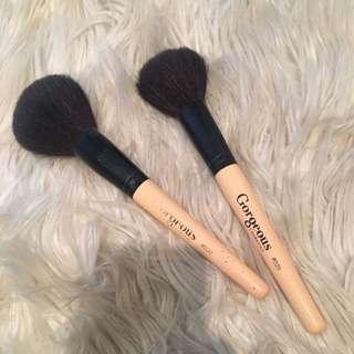 Gorgeous Cosmetics Large Powder Brushes