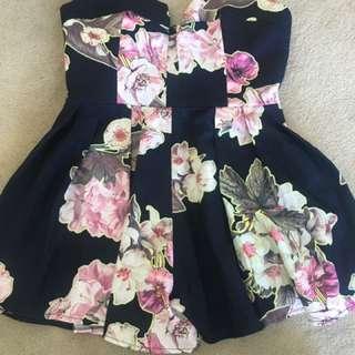 Ava Off-Shoulder Floral Jumpsuit