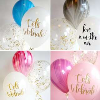 PARTY OMBRE BALLOON SET