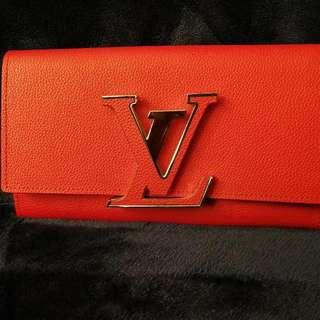 Red/orange Lv Wallet