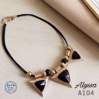 "Kalung Statement Necklace ""Alyssa"" A104"
