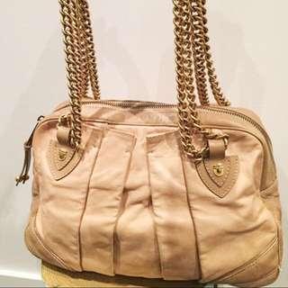 低於1折 Marc Jacobs Leather Shoulder Bag With Gold Chain 袋