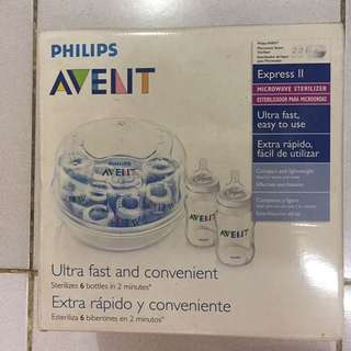 Avent Microwave Steam Sterilizer Brand New
