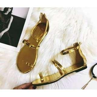 🚚 超實搭金條涼鞋