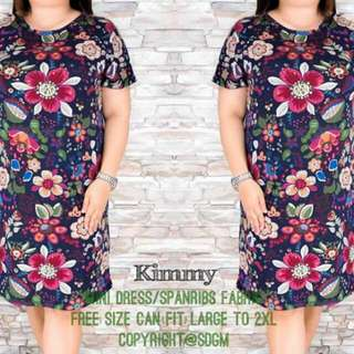 PLUS SIZE KIMMY DRESS