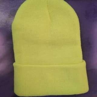 Yellow Beanie