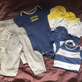 Carter's 9month Old Bundle Set