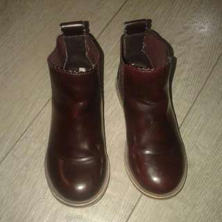 pre loved zara girls boots