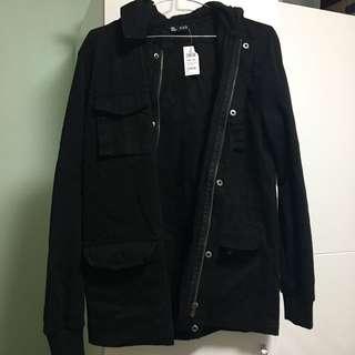 brand new black boys jacket