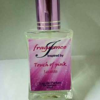 Fragrance perfume (Touch Of Pink)