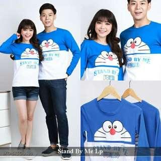 Baju Couple | Jual Baju Pasangan | Kaos Couple Termurah | Doraemon Lp