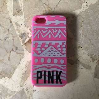 Victoria Secret Pink Jelly Case iPhone 5/5s