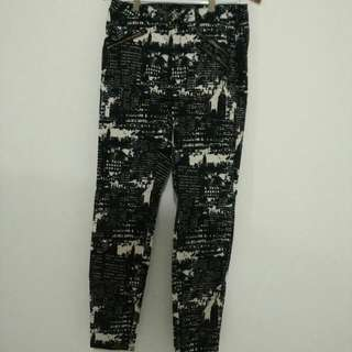 MAISON SCOTCH (Scotch & Soda) Printed Trousers
