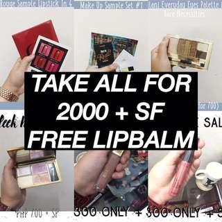 Makeup Set (Benefit, Shu Eumura, Sleek, Milani, Dior)