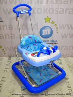 Family FB2115LD Rolex 2 In One Baby Walker N Rocker Usia 6 Bulan - 1 Tahun