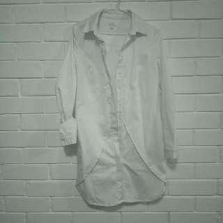 Kookai White T-shrirt Dress
