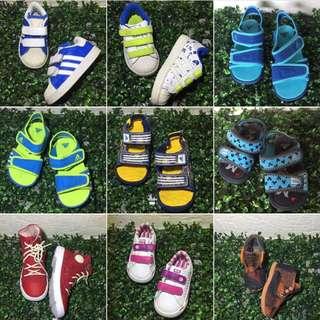 Authentic Baby Shoes NIKE ADIDAS CROCS CONVERSE TOMS LACOSTE VANS