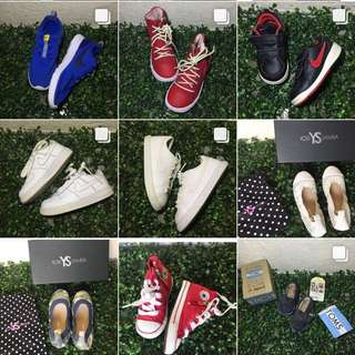 62b37f300c8 Authentic Baby Shoes NIKE ADIDAS CROCS CONVERSE TOMS LACOSTE VANS
