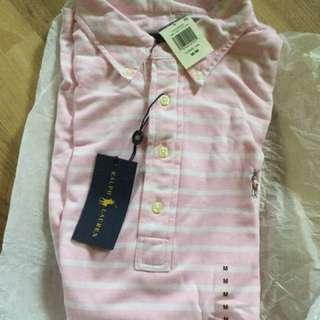 Ralph Lauren - Polo Shirt Knit Oxford Pink
