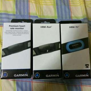 Garmin Premium / HRM-Run / HRM-Tri Heart Rate Monitor soft strap 心跳帶 / 跑步動態/三鐵心跳帶