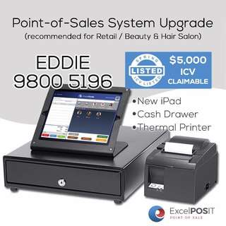 New iPad Point-of-Sales (POS) System (Full Claim Of $5k)