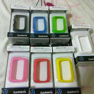 Garmin Edge 520/520 plus Silicone Case 保護套 1個,送 Garmin鋼化玻璃膜1張