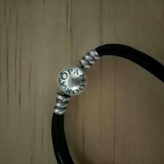 Pandora Leather Rope Bracelet