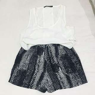 Set Item - Top & Shorts