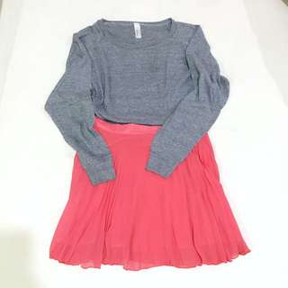 Set Item - Sweater & Skirt