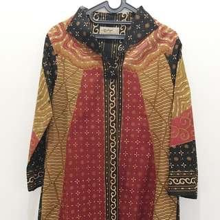 Dress Coat Batik Solo
