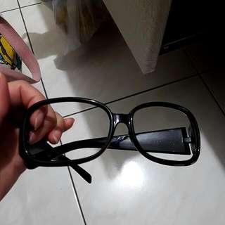 無鏡片黑框眼鏡 #交換最划算