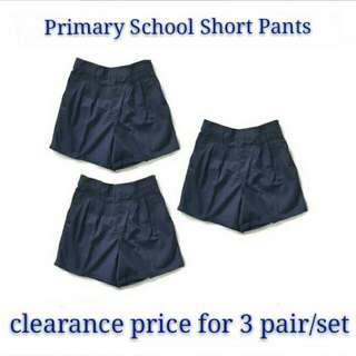 primary school short pants/boy's pant#Baget20