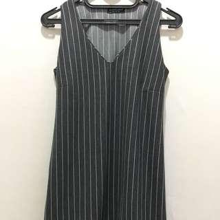 Stripes Dress Impor