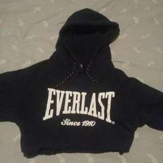 Cropped Everlast Hoodie