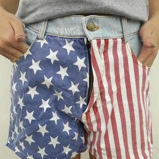 Preloved Washed Jeans Short Pant