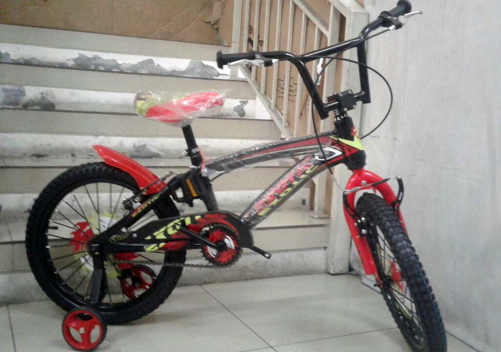 18in Exotic 503 BMX Sepeda Anak Laki-Laki Usia 5 - 8 Tahun