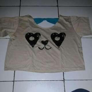 Crop lowback panda