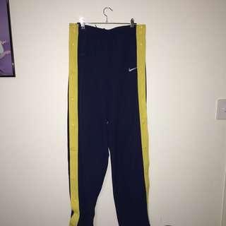 Vintage Nike Popper Tracksuit Pants Trackies