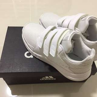 Adidas Eco Ortholite Boys White Shoes