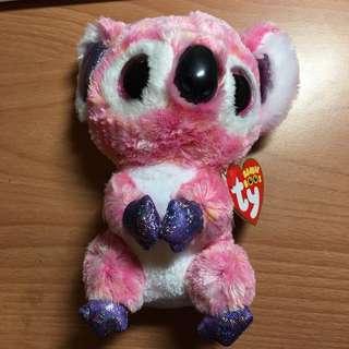TY Beanie Boos Kacey Pink Koala Precious Thots