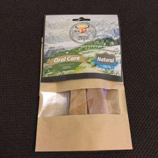 天然氂牛潔牙乳酪-M 2入(95克)